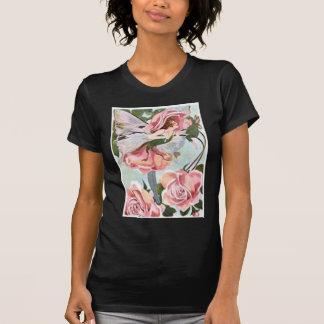 Pink Rose Flower Fairy T-Shirt