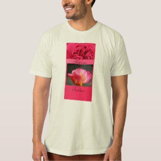 Pink Rose Flower T-Shirt