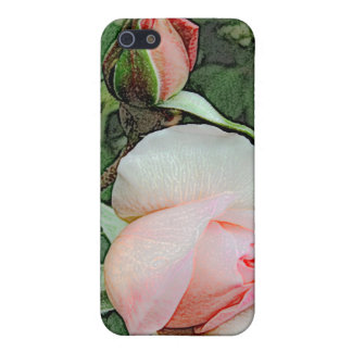 pink rose flowers case for iPhone SE/5/5s