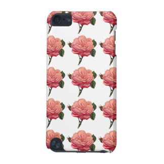 Pink Rose Flowers iPod 5g Touch Case