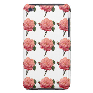 Pink Rose Flowers iPod Touch Case