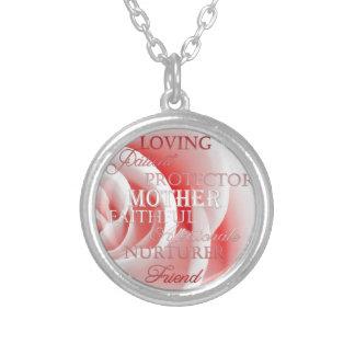Pink Rose for Mom Custom Jewelry