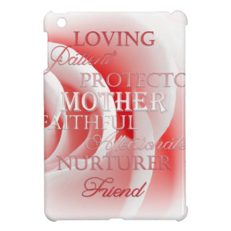 Pink Rose for Mom iPad Mini Cover