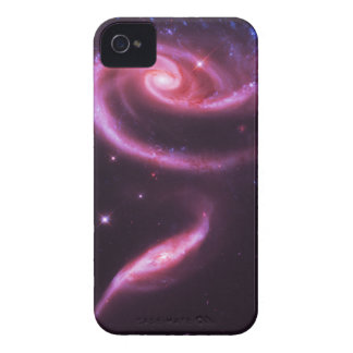 Pink Rose Galaxies iPhone 4 Case-Mate Case