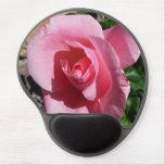 Pink Rose Gel Mouse Pad
