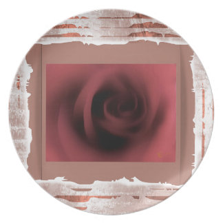Pink Rose Gifts Plate