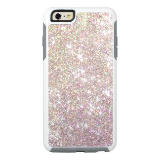 Pink Rose Gold Glitter Otterbox iPhone 6 Case