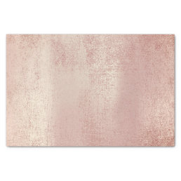 Pink Rose Gold Metallic Blush Powder Tissue Paper
