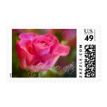 Pink Rose • Happily Ever After Stamp