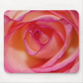 Pink Rose image mouse pad