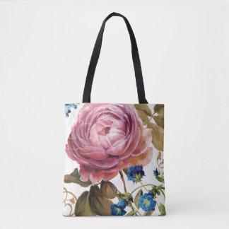 Pink Rose in Full Bloom Tote Bag