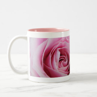 Pink Rose In The Rain Mugs
