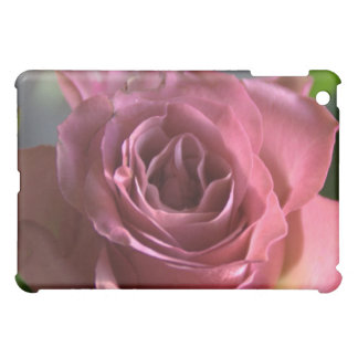 Pink rose iPad mini cover