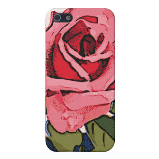 Pink Rose iPhone SE/5/5s Cover