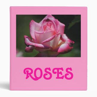 Pink Rose Kordes Perfecta Avery Binder