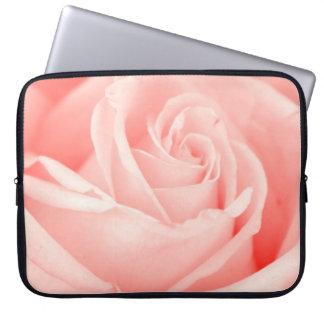 Pink Rose Laptop Bag Computer Sleeve