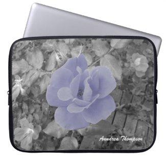 Pink Rose Laptop Sleeve electronicsbag