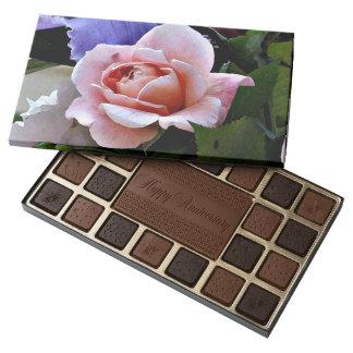Pink Rose Love Box of Chocolates