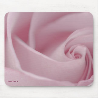 Pink Rose Macro Mouse Pad