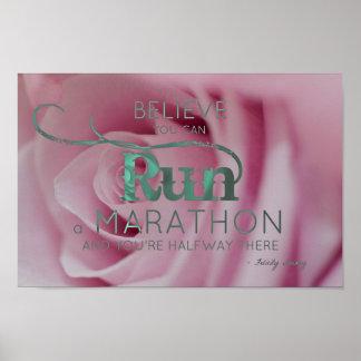 Pink Rose Marathon! Poster