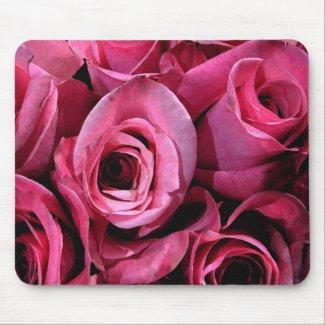 Pink Rose Mousepad mousepad