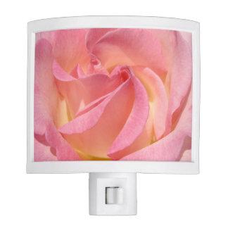 Pink Rose Night Light custom Bedroom Hallway Bath