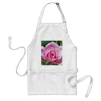 Pink Rose of Love Adult Apron