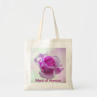 Pink Rose of love - Maid of Honour Canvas Bag