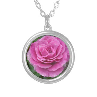Pink Rose of Love Pendants