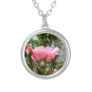 Pink Rose of Love Necklaces