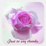 Pink Rose of love Sticker
