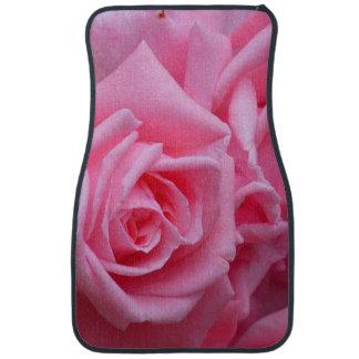 Pink Rose of Love Floor Mat