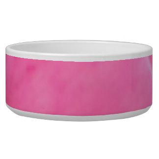 Pink Rose Petal Art  -  Theme Decorations Dog Food Bowls