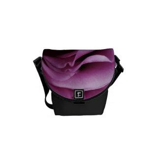 Pink Rose Petals Mini Messenger Bag