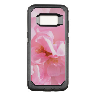 pink rose petals OtterBox commuter samsung galaxy s8 case