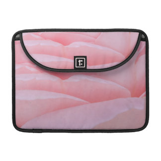 Pink Rose Petals Sleeve For MacBook Pro