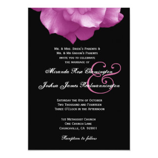 PINK Rose Petals Wedding Template F004