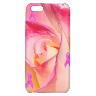 Pink Rose Pink Ribbon 4 iPhone 5C Cover