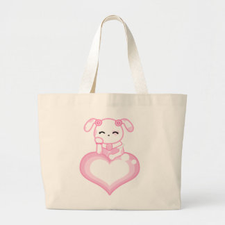 Pink Rose Puppy Bag
