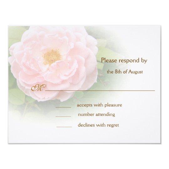 Pink Rose respond cards