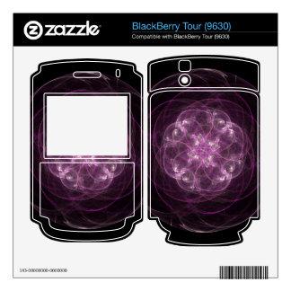 Pink Rose BlackBerry Tour 9630 Skin
