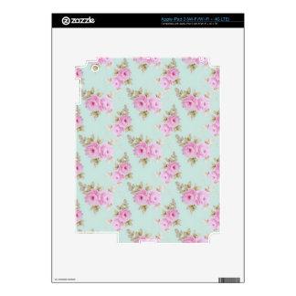 Pink Rose Skin iPad 3 Decal