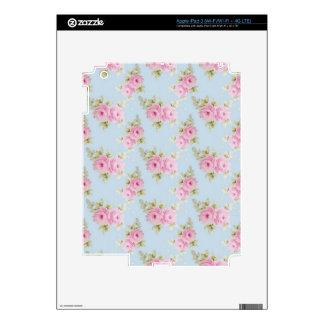 Pink Rose Skin Skin For iPad 3