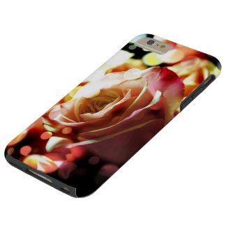 Pink Rose Sparkle Lights iPhone 6 Plus Tough Case iPhone 6 Case