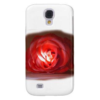 Pink Rose Spotlighted Iimage Samsung Galaxy S4 Case