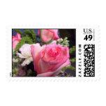 Pink Rose Stamp (Medium)