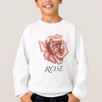 Pink Rose Sweatshirt