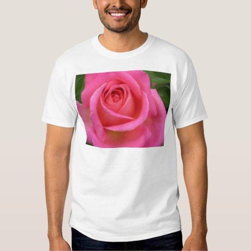 Pink Rose Tee Shirts