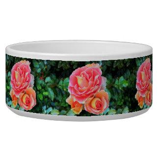Pink Rose Trio Bowl
