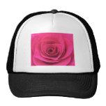Pink Rose Trucker Hat